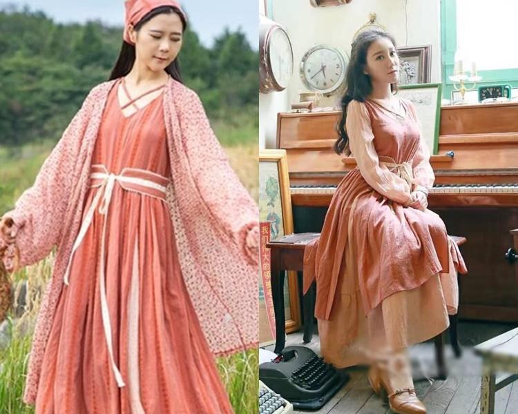 遲女指設計李先生的衣服與自己的設計非常相似,屬於抄襲。網圖/微博