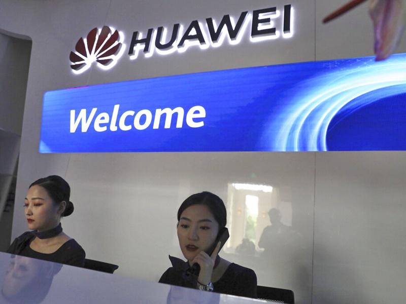 華為發聲明指限制華為會令美國在5G網絡建設中落後其他國家。AP圖片