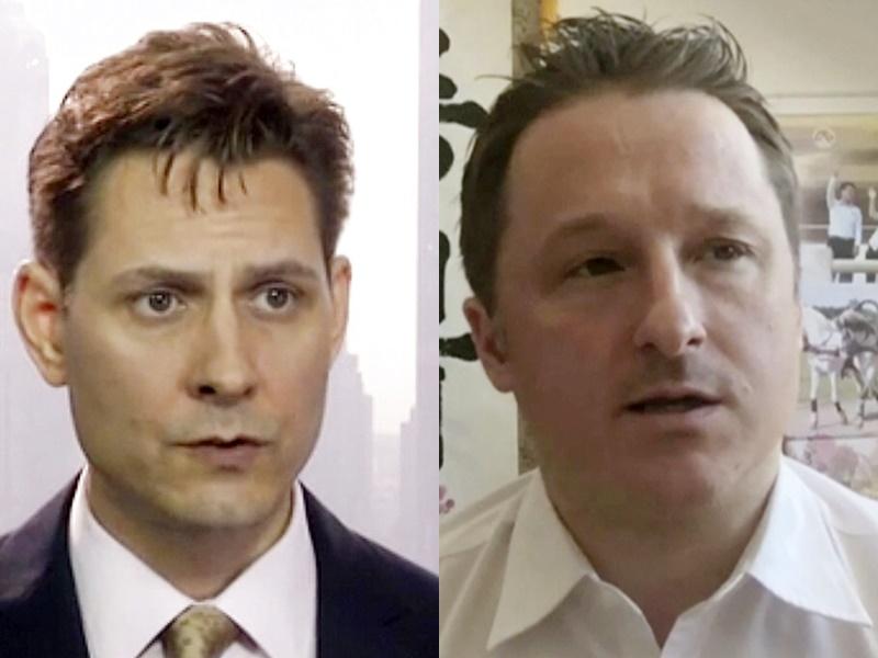 華外交部證實加拿大前外交官康明凱和加籍商人邁克爾遭正式拘捕。AP圖片