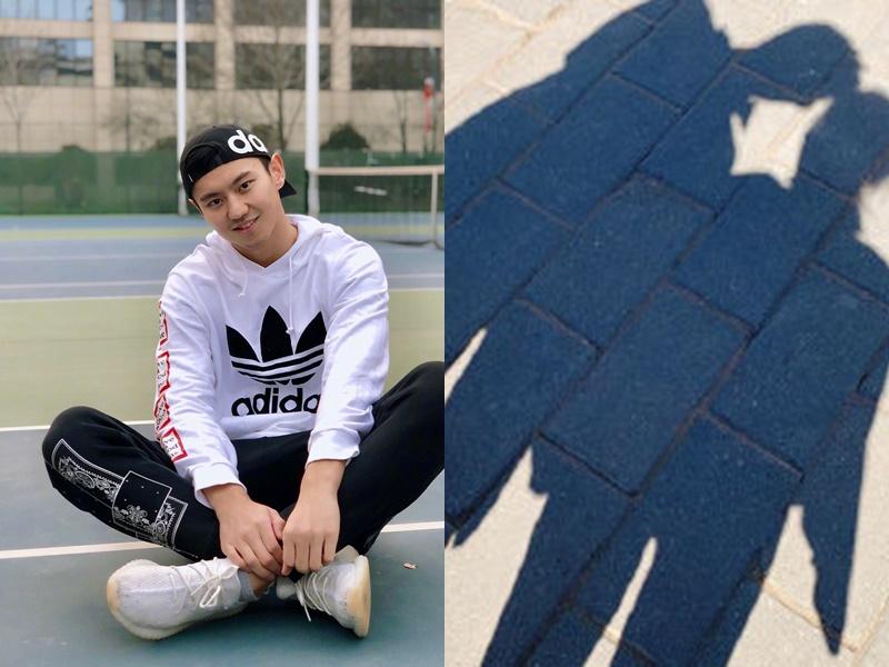 寧澤濤疑似在社交網站公布戀情。網圖