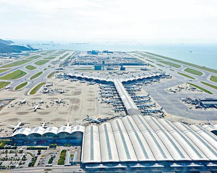 廣東省同意為香港國際機場三跑填海工程供應部分海沙。 資料圖片