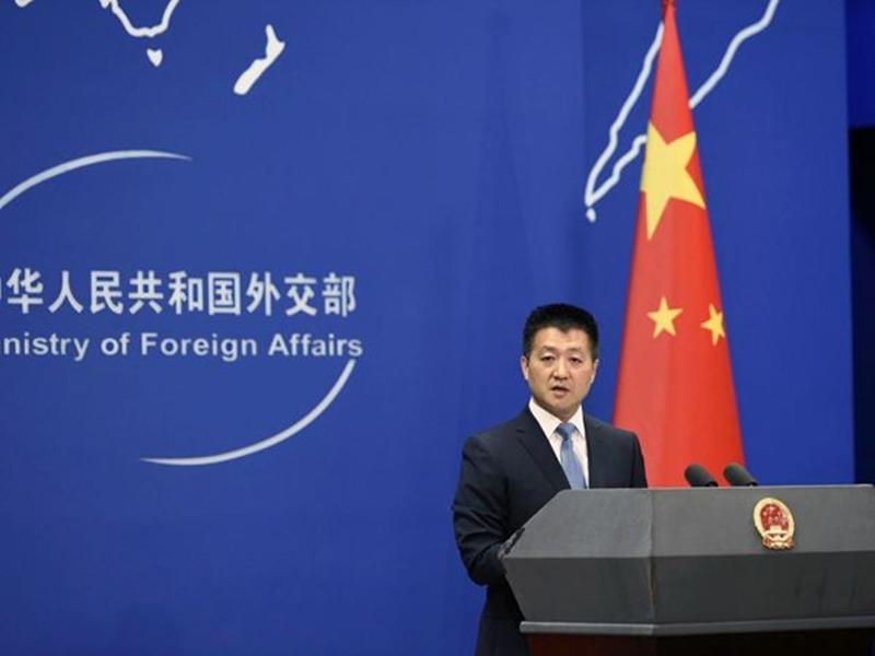 外交部發言人陸慷指中美談判要有意義,必須有誠意。網上圖片