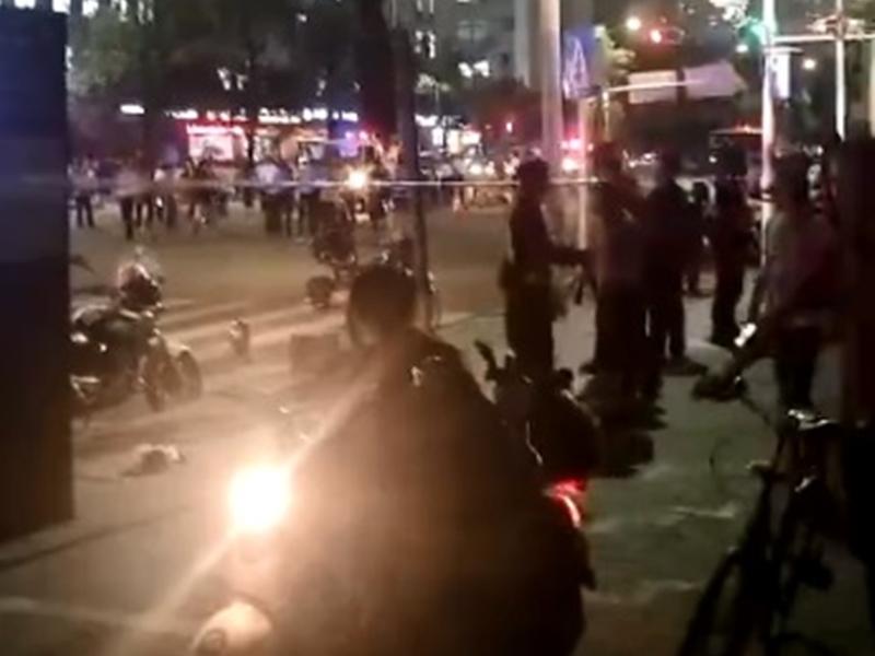 深圳南山區發生車禍。 網上圖片