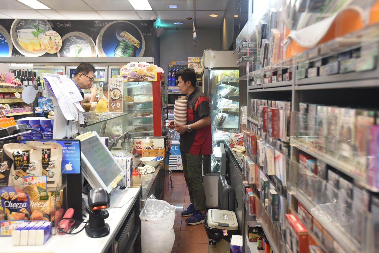 首宗劫案發生在新蒲崗寧遠街一間便利店。資料圖片