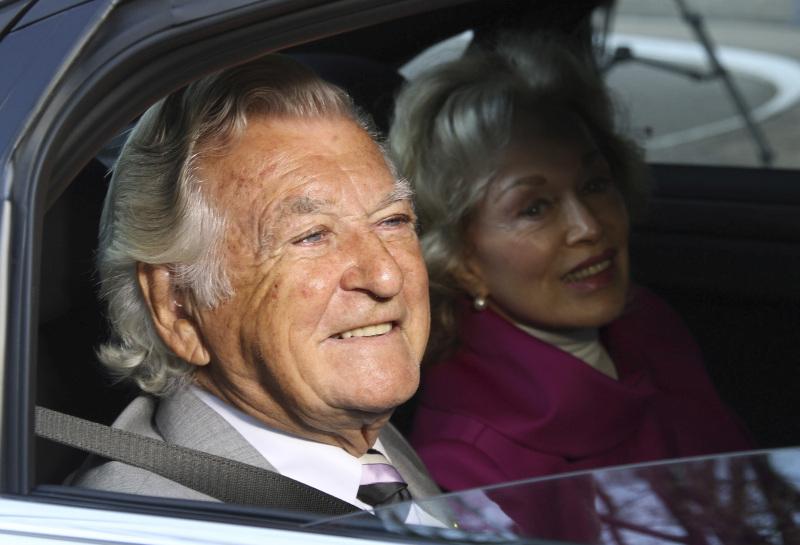 澳洲前總理霍克逝世,終年八十九歲。 AP