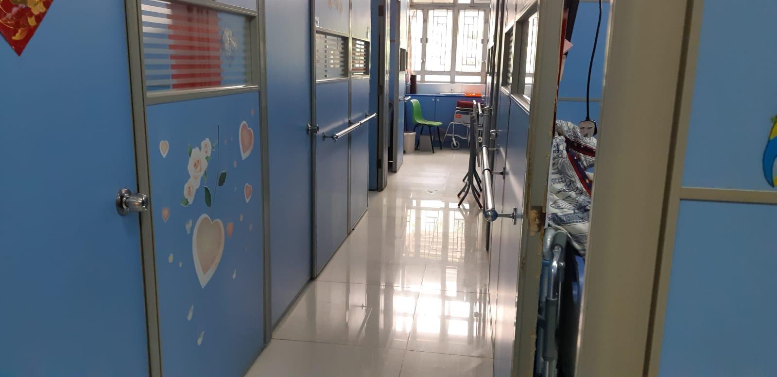 護老院內環境。 讀者提供