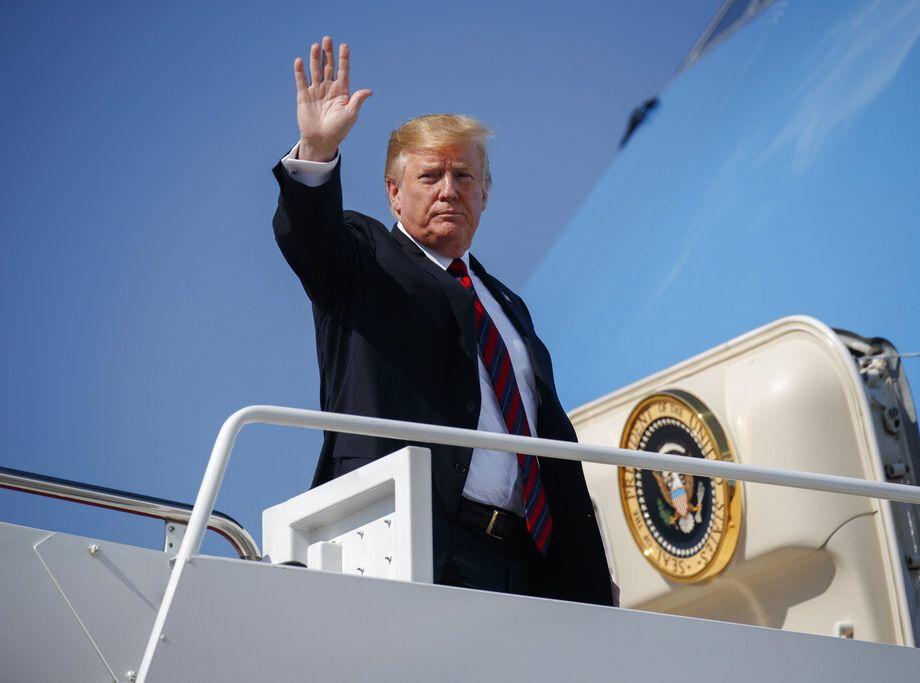 有美國官員透露,特朗普曾對高層幕僚表明,不希望與伊朗開戰。AP