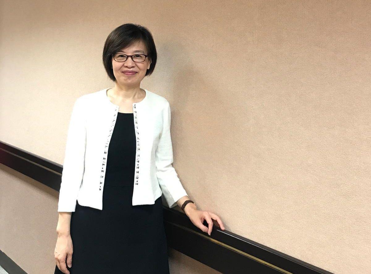 杜嘉芬指,不接受以「把台灣框架在一個中國之下」的前提下來協商。姚晴霖攝