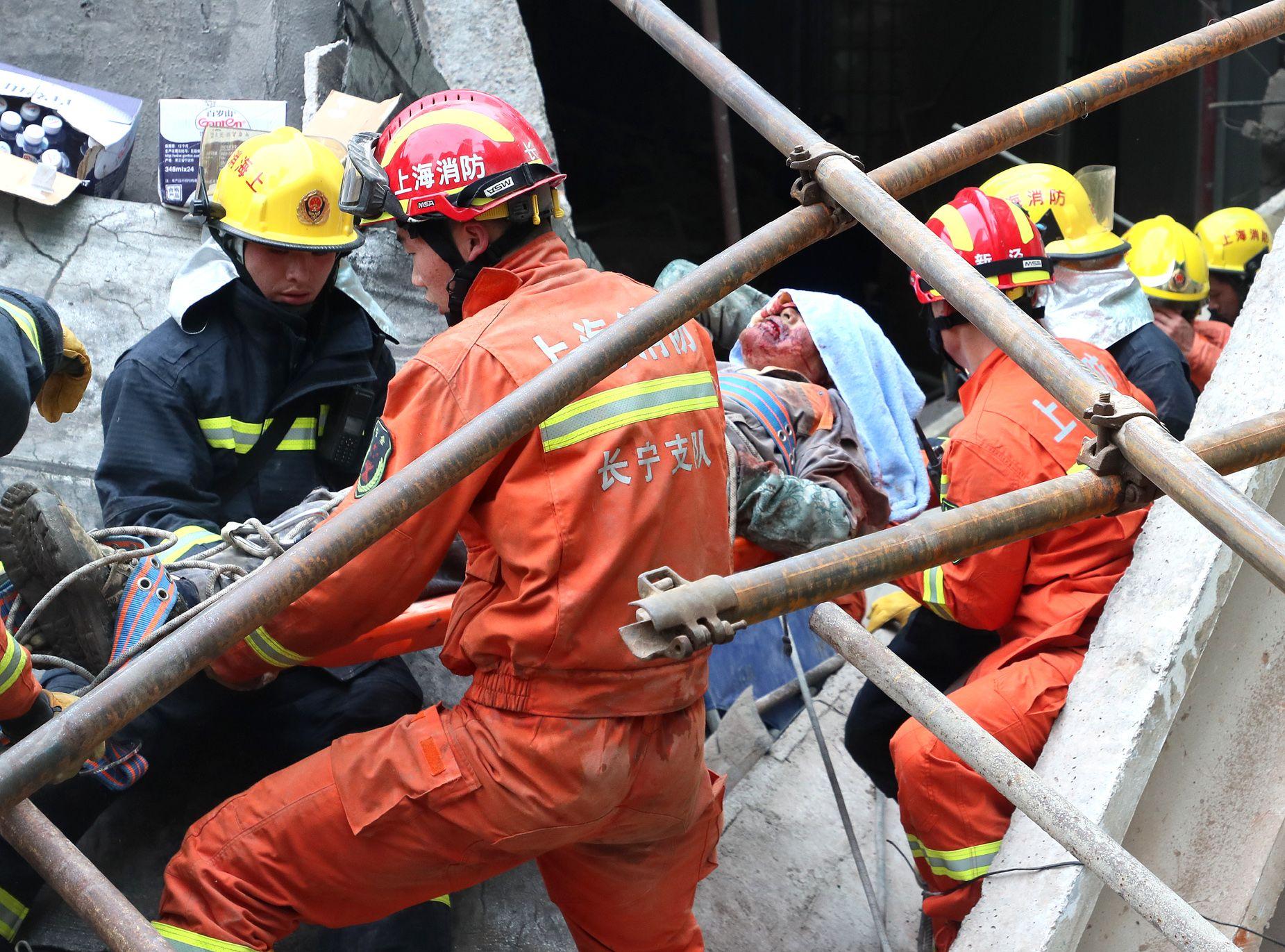 事故導致10人死亡。新華社圖片