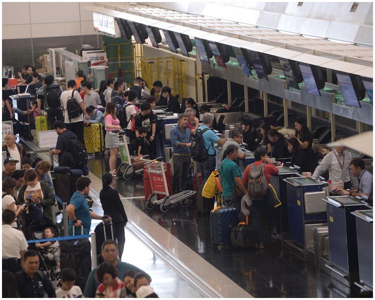 中心宣布機場麻疹爆發個案完結。資料圖片