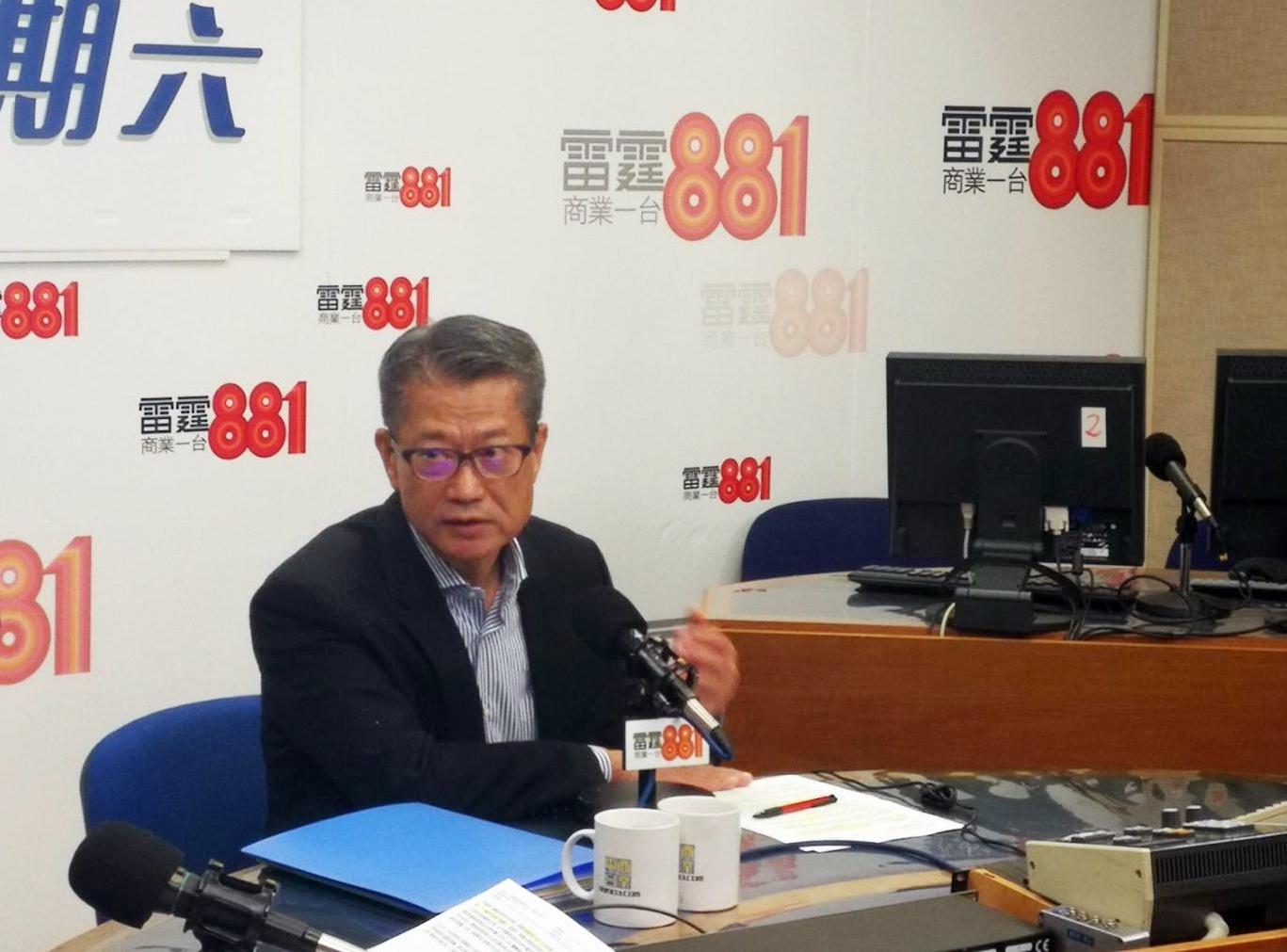 陳茂波指,最重要是「撐企業、保就業」。