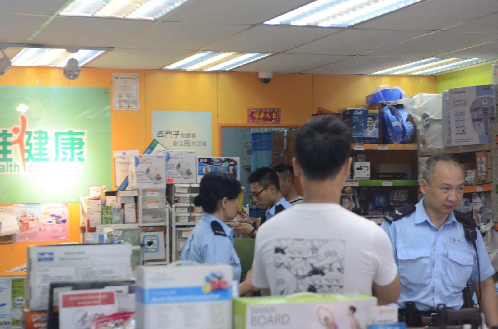 復康用品專門店損失千多元銀頭。