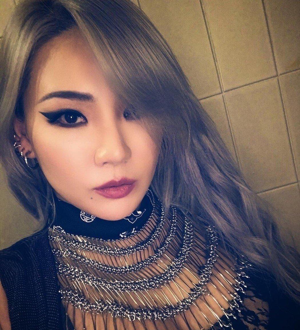 韓星CL。網上圖片