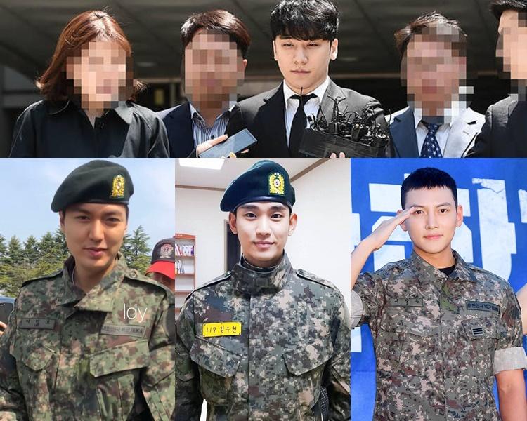 勝利被揭涉罪,引爆韓娛圈的醜聞潮。李敏鎬和池昌旭剛退伍,金秀賢亦即將退伍了。