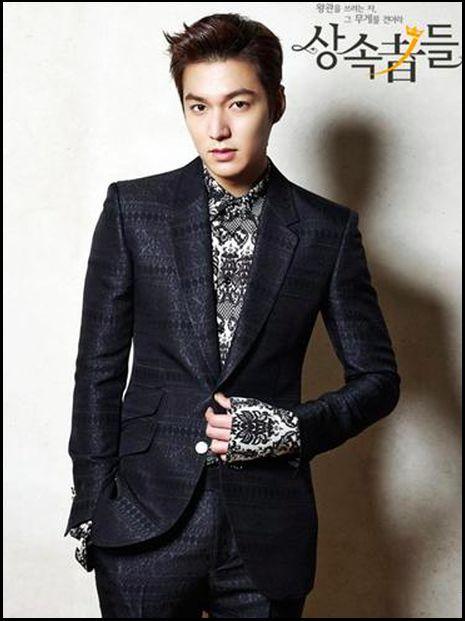 李敏鎬曾憑《繼承者們》吸納更多fans。
