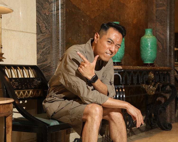 由電視走入大銀幕的姜皓文,自言經歷過高高低低,但一直堅持到底,不言放棄。