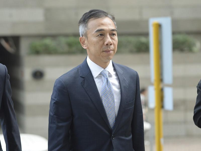 馮永業涉收51萬賄款,控方申請修訂控罪字眼。資料圖片