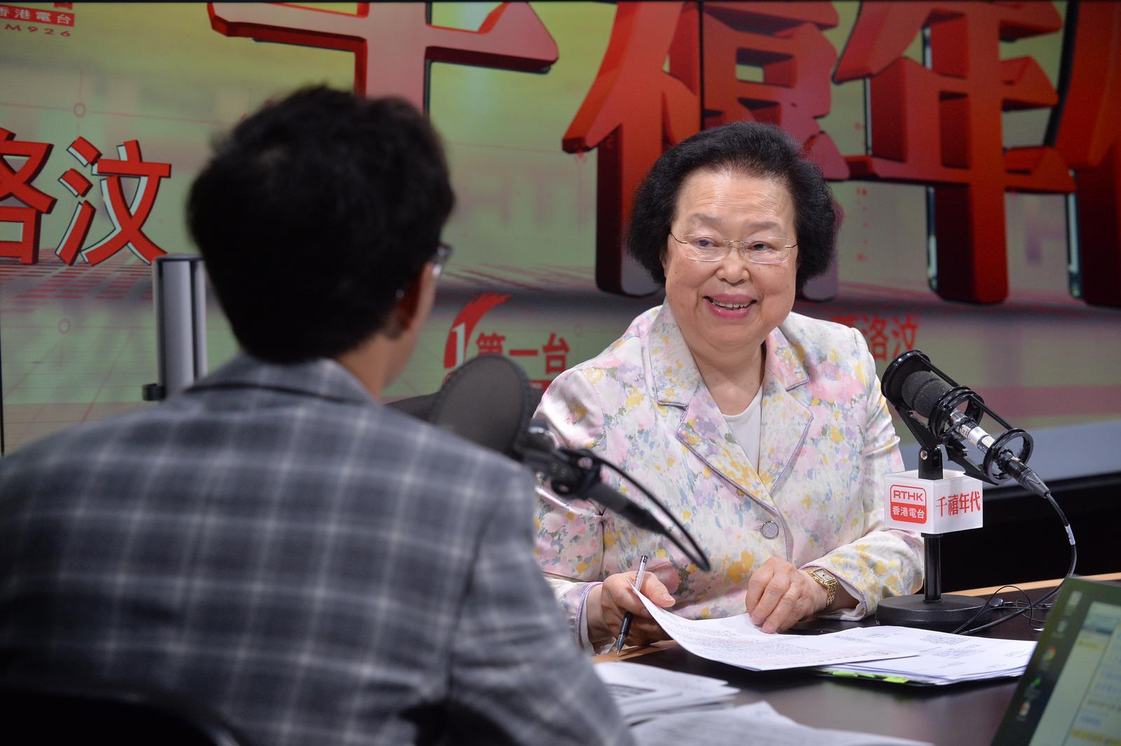 譚惠珠表示,中聯辦早前就逃犯條例修訂的表態,是支持特區政府依法施政。