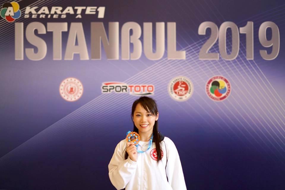 劉慕裳於季軍戰奪25.8分,力壓獲25.62分的意大利選手維維安娜。網上圖片