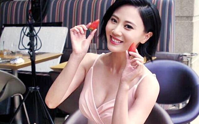 朱晨麗晒事業線拍瘦身廣告