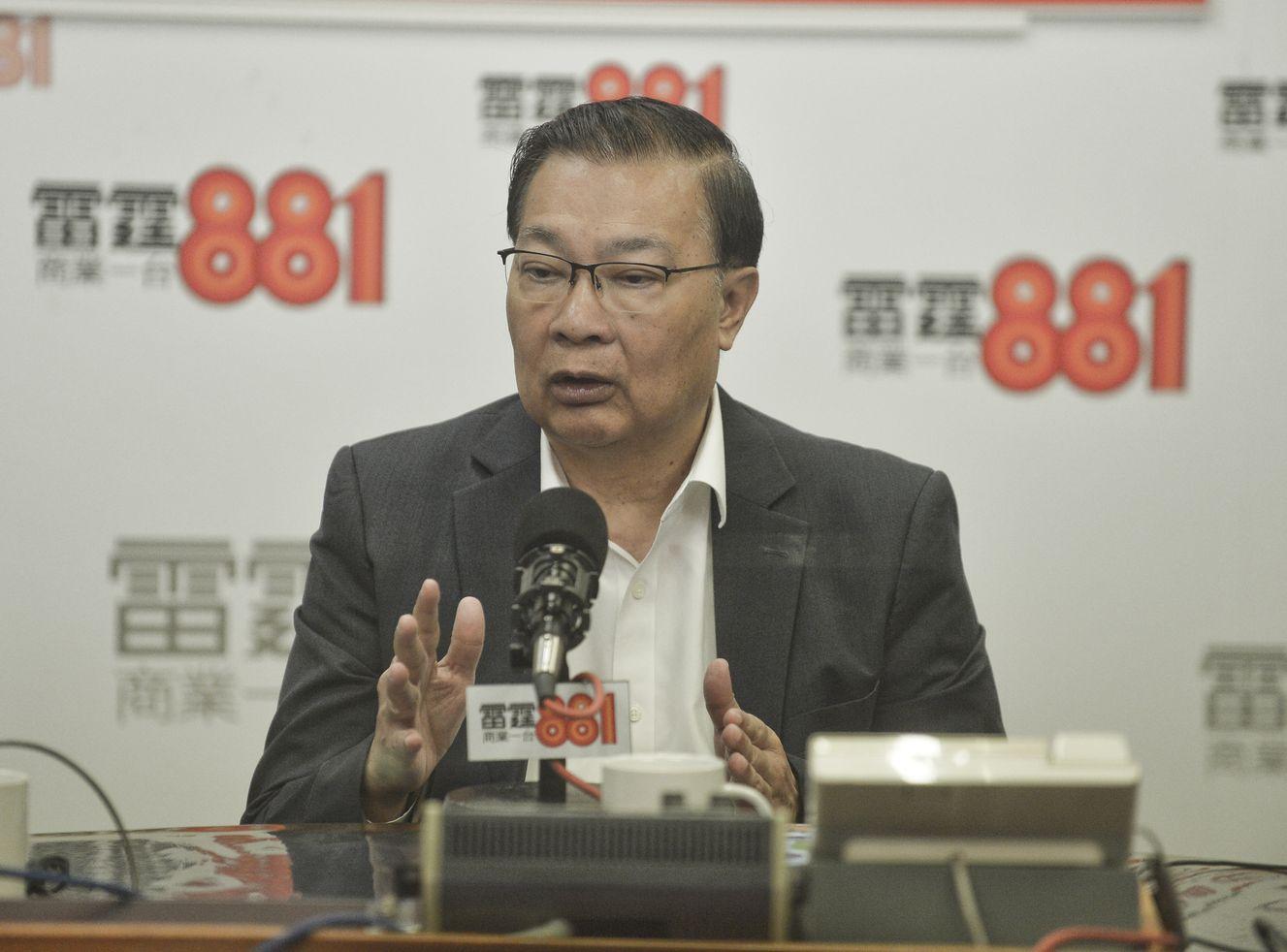谭耀宗表示,将修订交上立法会大会进行二读,是可行亦符合议事规则的办法。