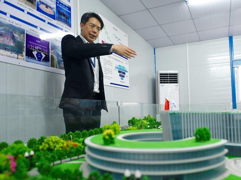 廣州粵芯半導體技術有限公司市場與業務拓展副總裁李海明。
