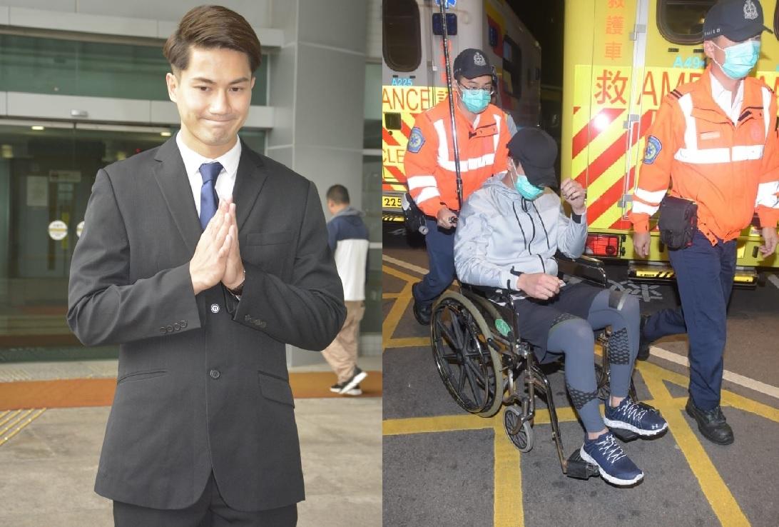 郭子豪本年3月27日在尖沙嘴涉嫌酒後駕駛被捕。