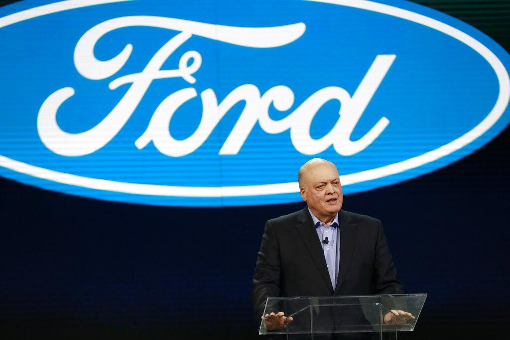 福特行政總裁哈克特指出,裁員採取自願離職(企業提供補償金)和解僱兩種方式。  AP圖片
