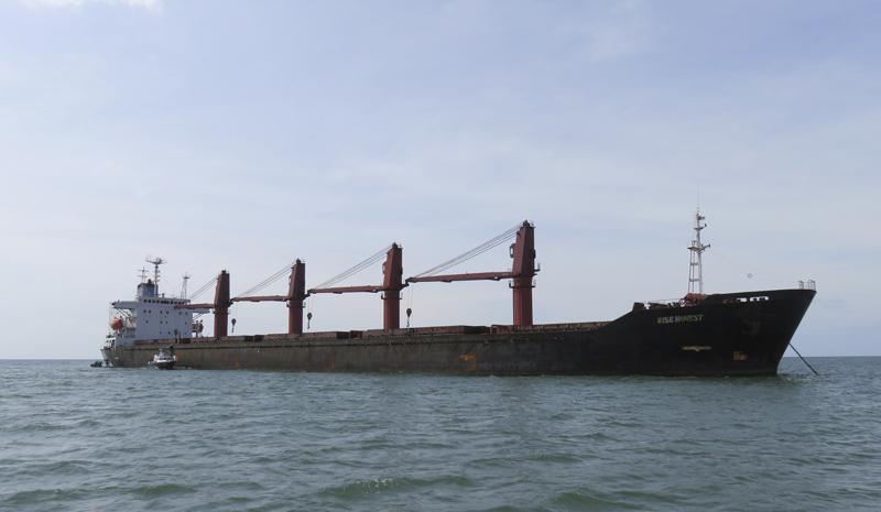 北韓駐聯合國大使要求美國歸還被扣押貨船。AP