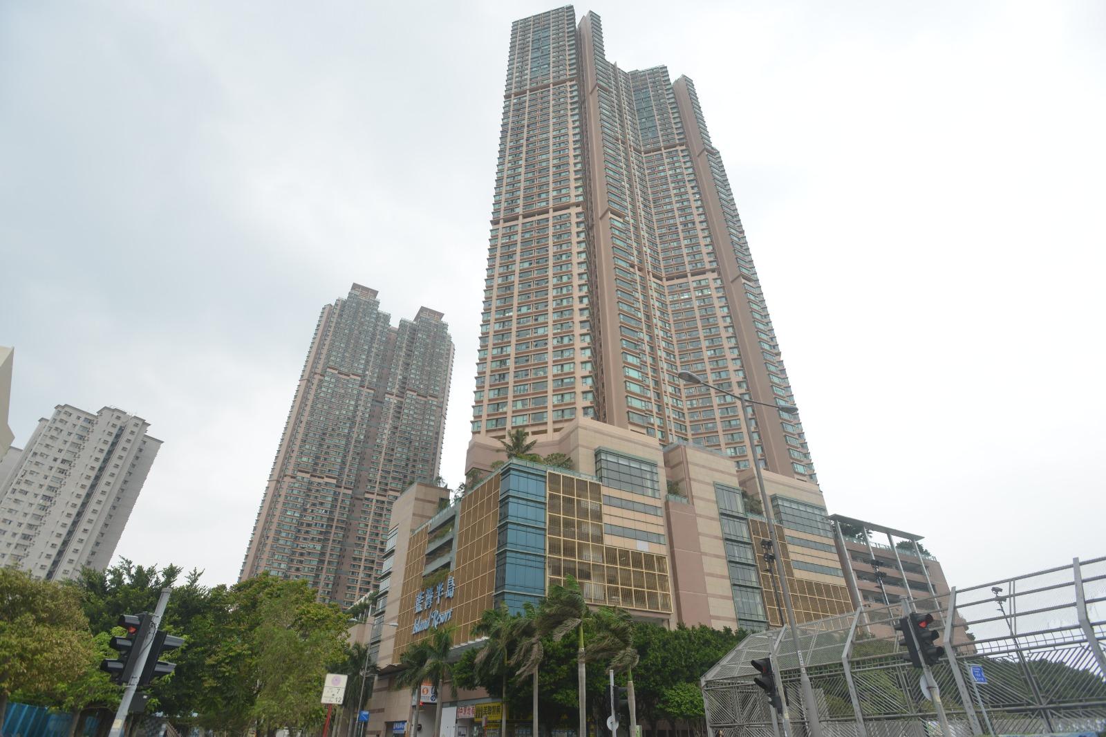 換樓客斥1035萬 購藍灣半島高層戶