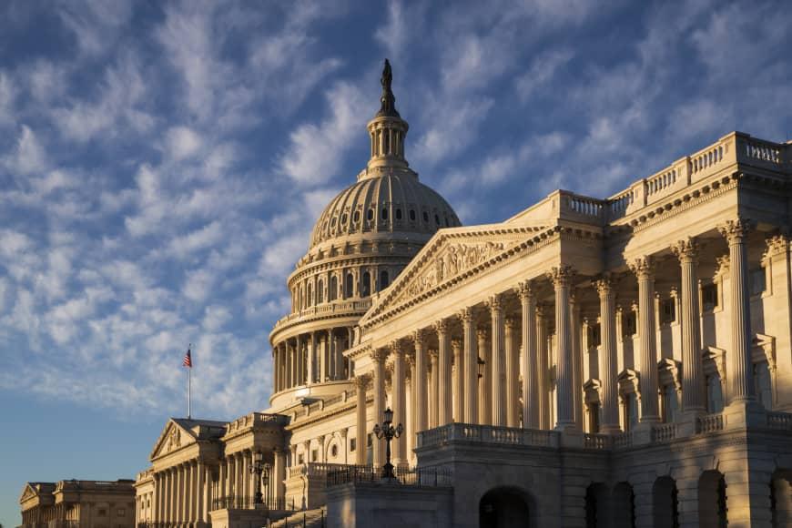 涂謹申認為,美國國會或有機會重提《香港民主及人權法案》。AP圖片