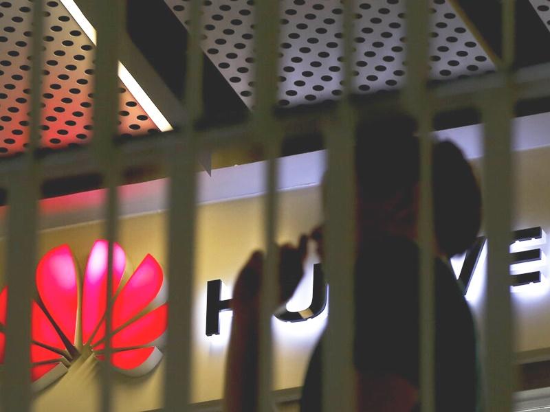 繼華為後,美國特朗普政府正在考慮將中國海康威視公司列入黑名單。 AP圖片