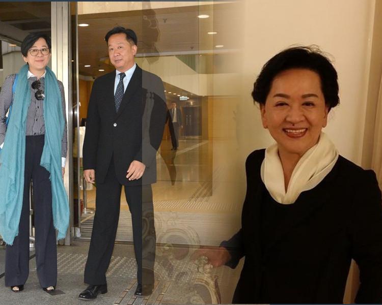 消息指祥嫂低調入了院,鄧小艾和鄧兆榮都有到醫院探望。資料圖片