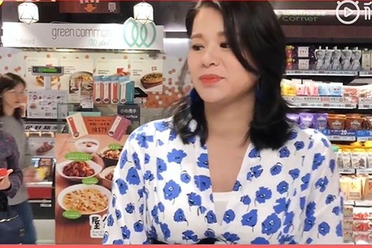 胡杏兒微博上載影片,分享佢嘅懷孕日記。