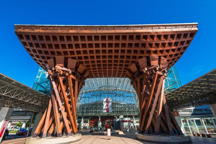 金泽车站。网上图片