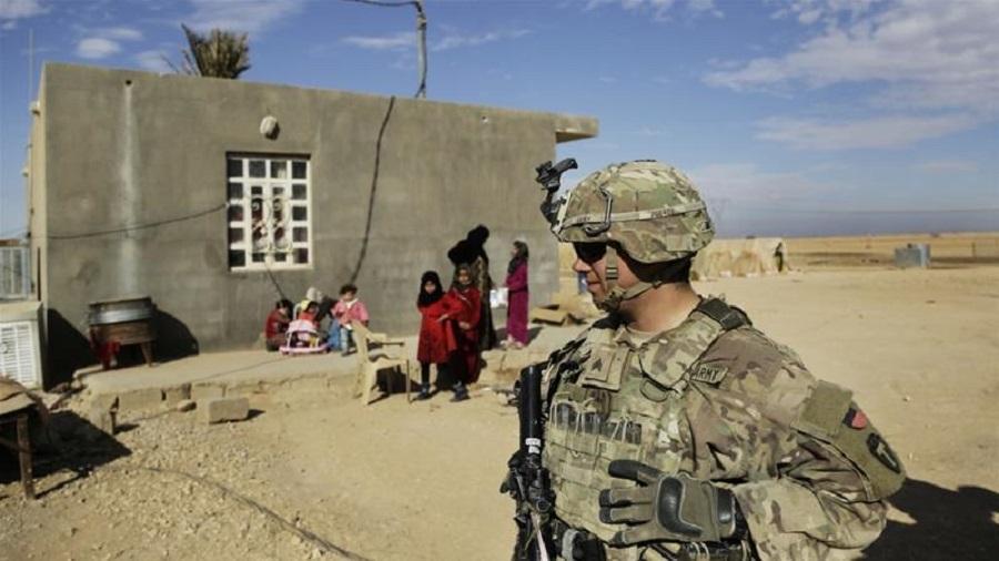美国拟增派1万美军赴中东。图片
