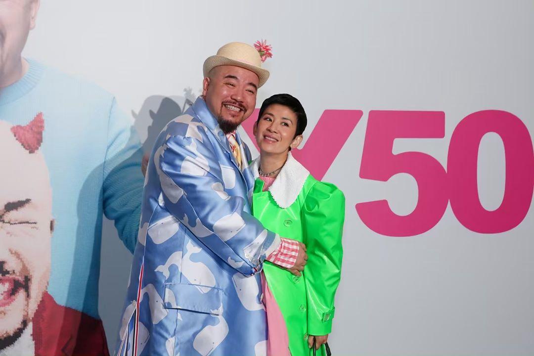 過往電台好拍檔兼好友吳君如亦有出席。 黃偉文IG圖片