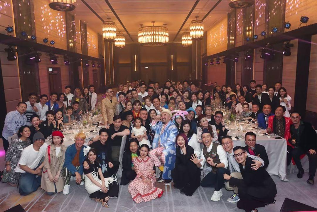 黃偉文日前舉行「Y50」生日會,大批圈中好友到賀,場面有如頒獎典禮一樣。 黃偉文IG圖片