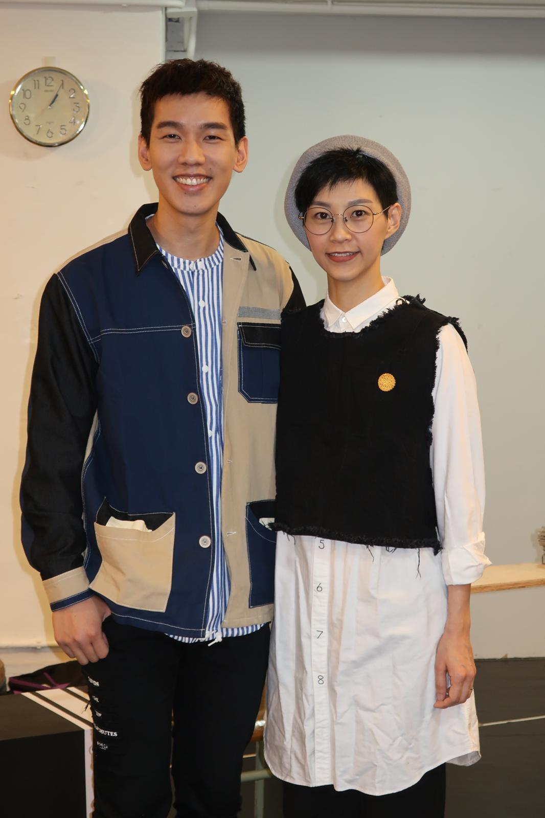 林奕匡與前電台DJ阿Wing合演的舞台劇《最好的時光》於本月底開鑼。