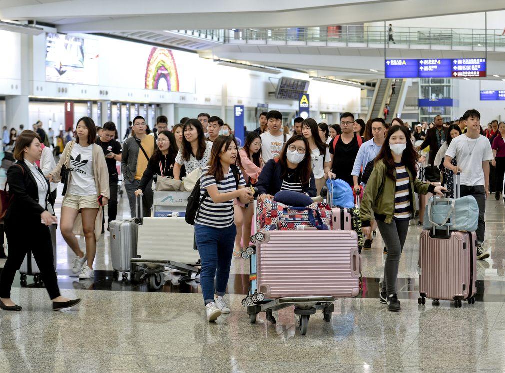 旅遊費用升幅擴大是其中一個消費物價指數上升的原因。資料圖片