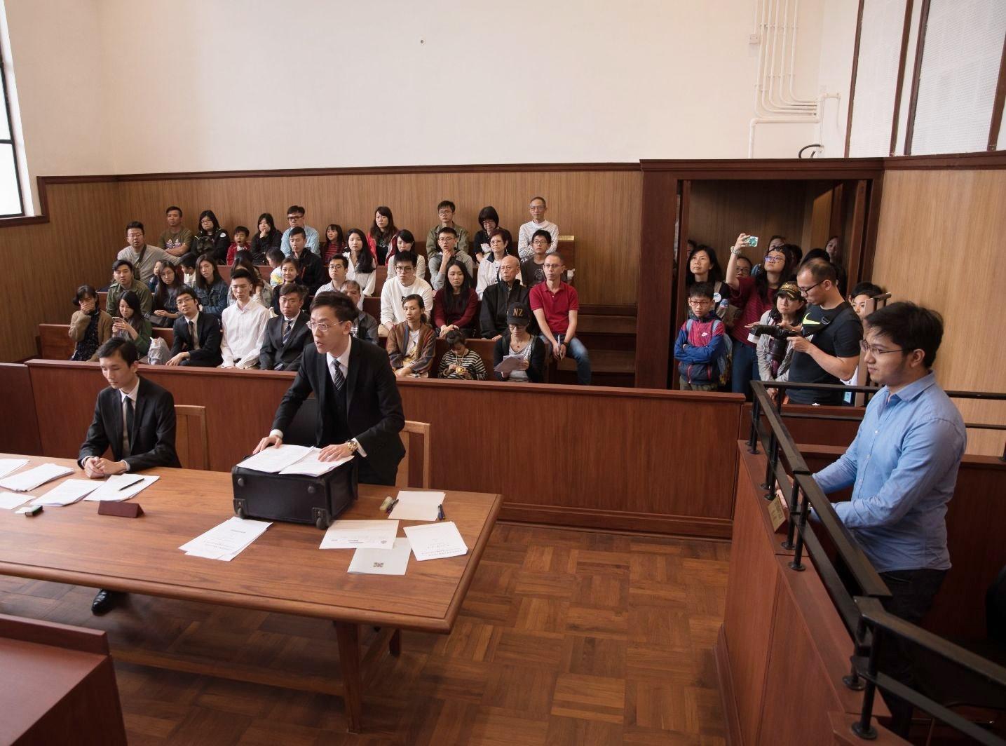 學院今年首舉辦《模擬法庭夏令營》。