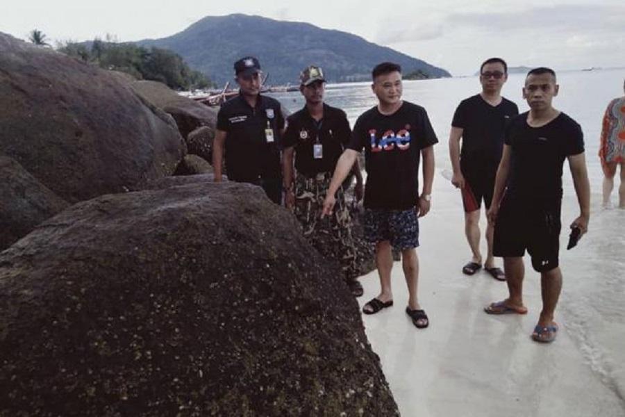 泰國警方安排中國旅客協助調查。網上圖片