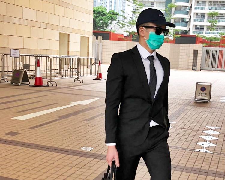 27歲涉案男警員朱灝立遭揭發曾在逾300次不同場合偷拍。蕭文軒攝