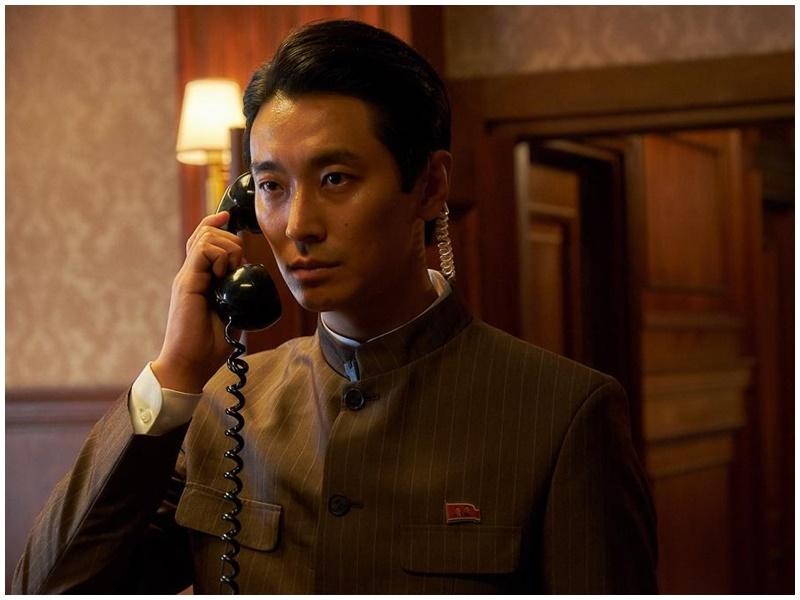 朱智勛參演的《北寒諜戰》也有好成績。《北寒諜戰》劇照