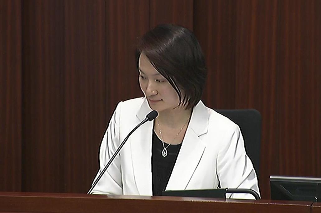 立法会内务委员会举行特别会议。无綫截图