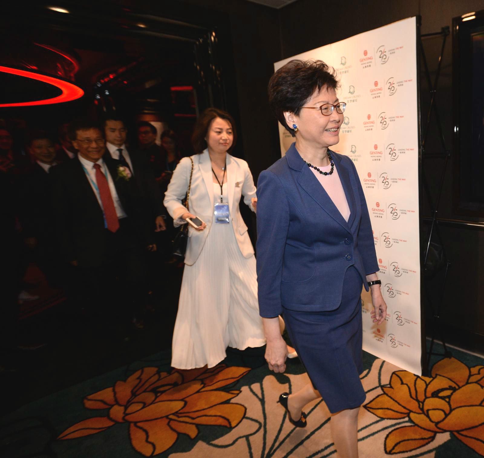 林鄭月娥出席雲頂郵輪集團活動