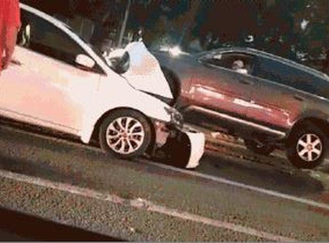 深圳南山區於本月16日發生車禍,導致3人死亡。網圖