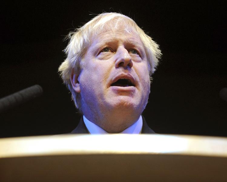 約翰遜被視為繼任首相的大熱人選。AP