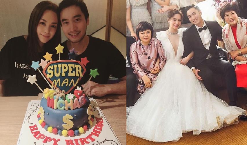 去年在美國舉行結婚派對的阿嬌,今年就提早和老公慶祝生日。鍾欣潼IG