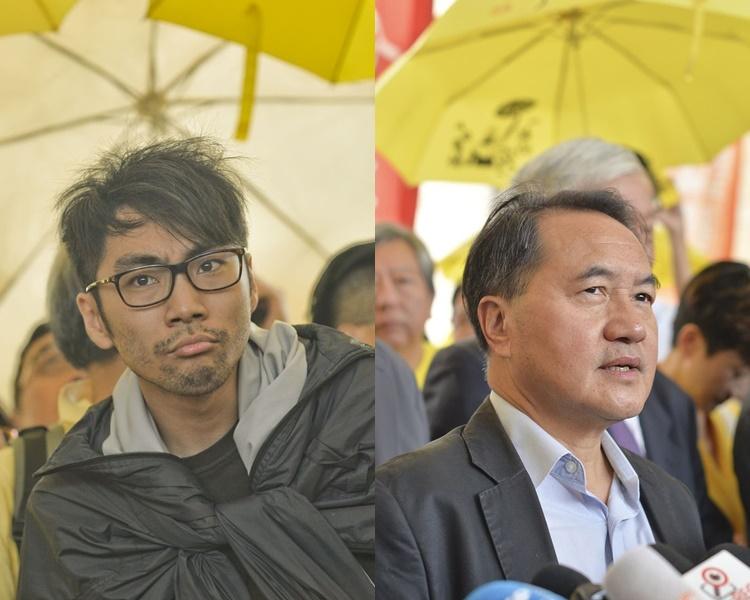 李永達及鍾耀華,就定罪提出上訴。資料圖片